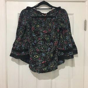 Solitaire Over The Shoulder Crochet Top